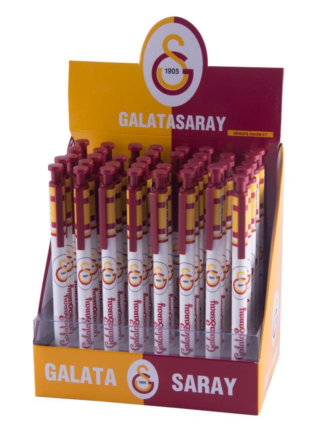 U12901 GALATASARAY VERSATİL KALEM 0,7 MM 40'LI 75243