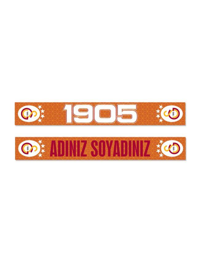 U88035 KİŞİYE ÖZEL 1905 TEMALI ŞAL ATKI