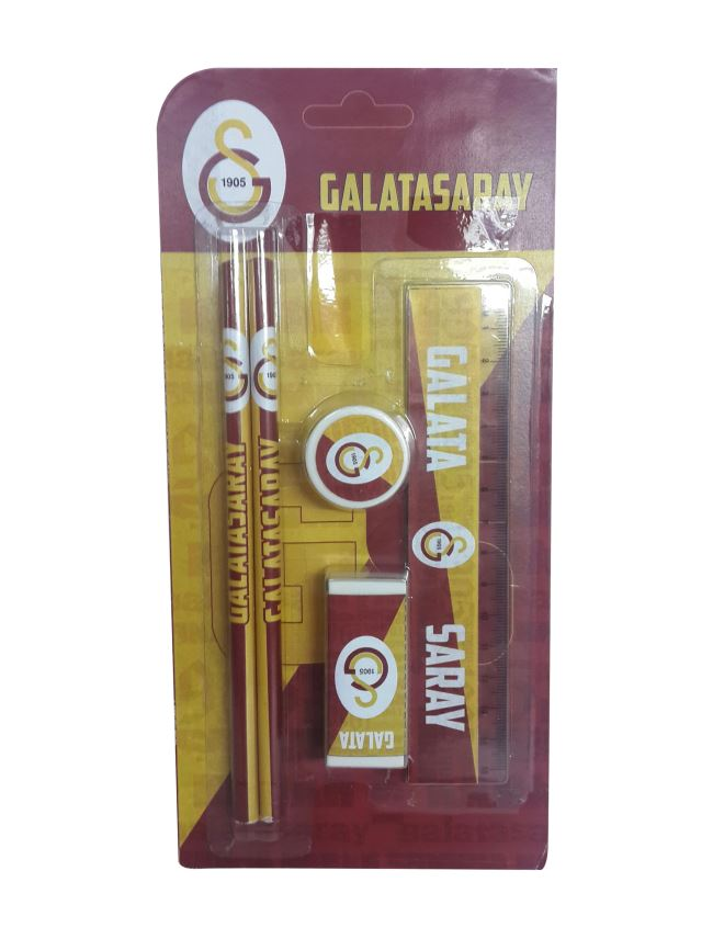 U12898 GALATASARAY 5'Lİ BLİSTER SET 75237