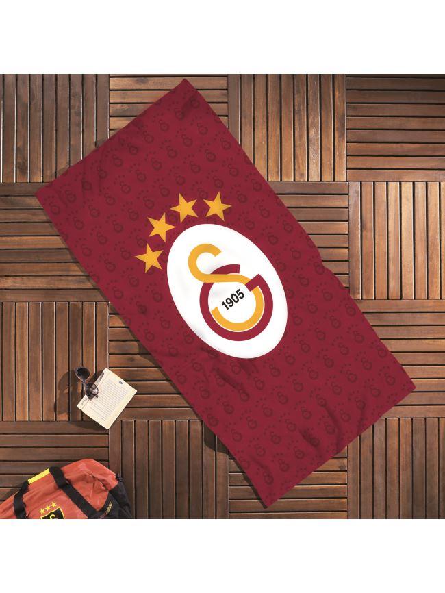 U21416 71102905 GS KLASİK LOGO PLAJ HAVLUSU