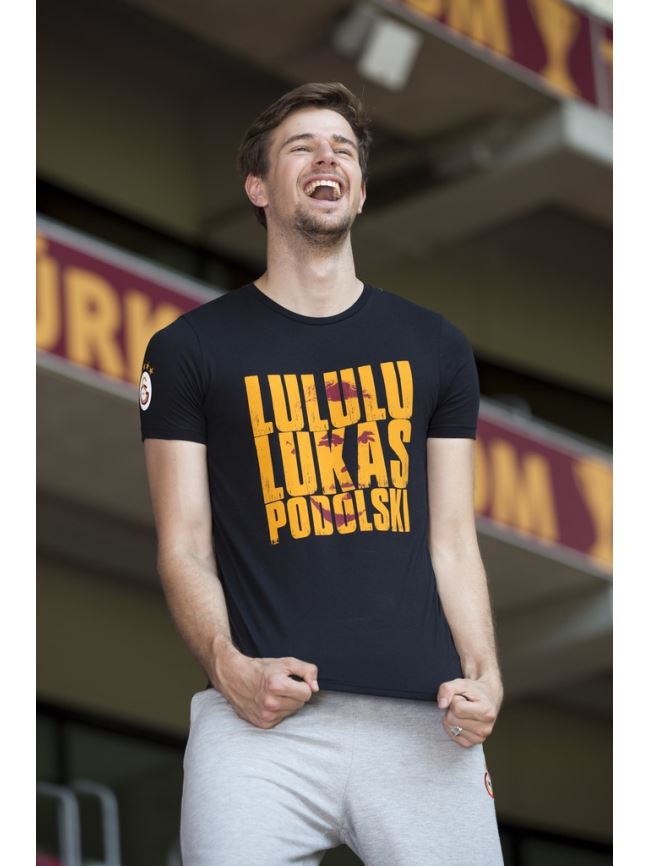 E19003 Lululu Lukas Podolski T-Shirt