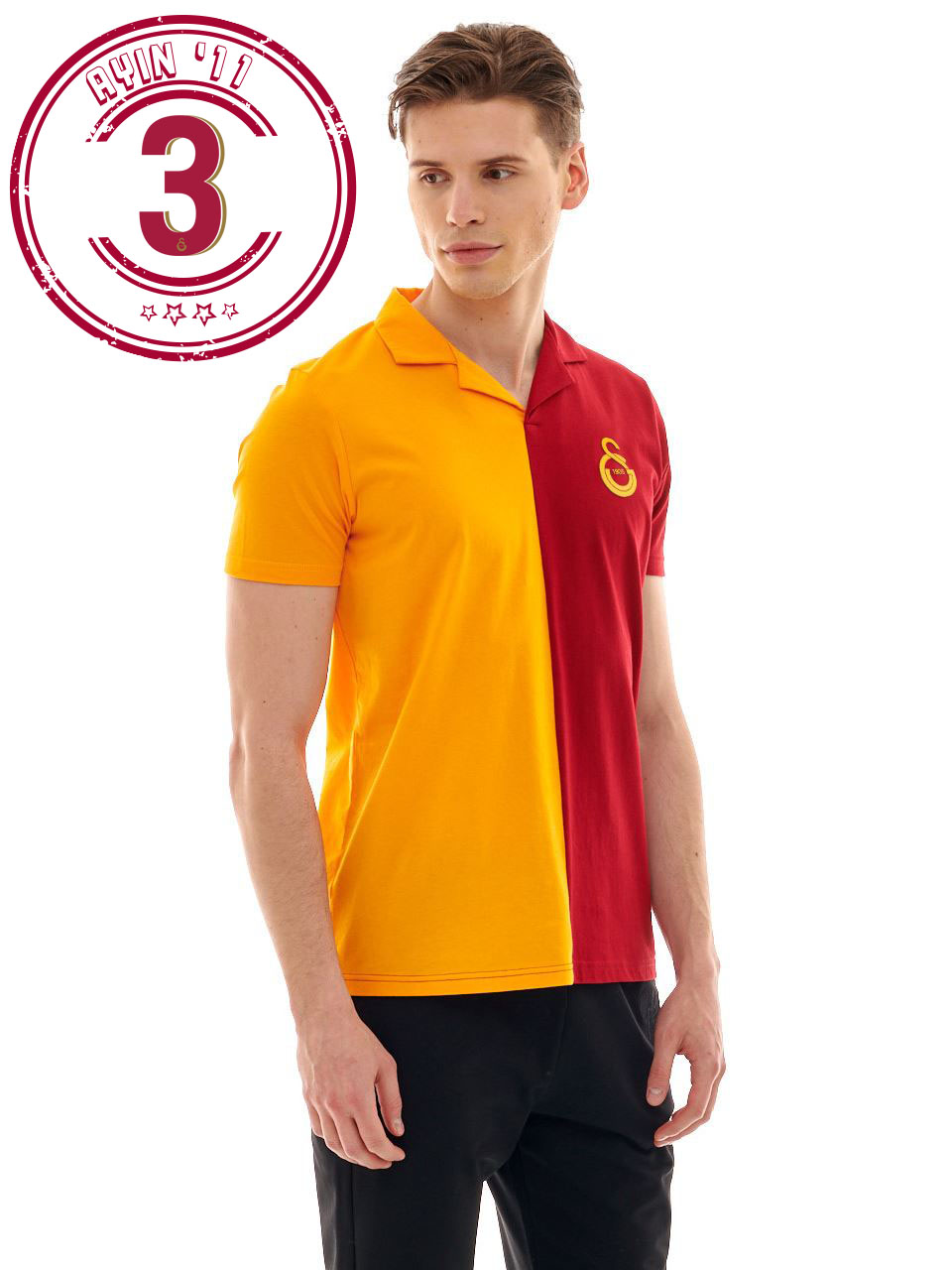 Galatasaray Erkek  Polo T-shirt E211064