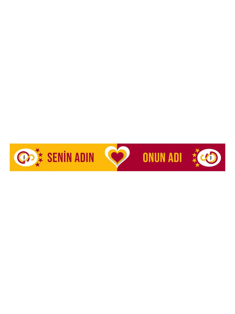 Galatasaray Kişiye Özel Atkı U212255