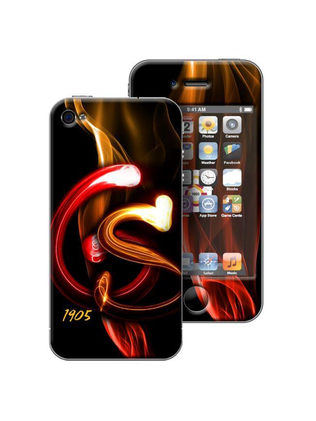 U13952 014.003 Galatasaray iPhone 4/4S Shockproof - Alevli