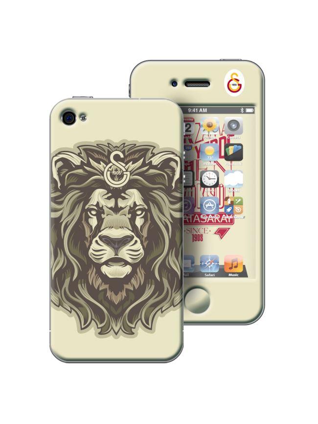 U13953 199.000 Galatasaray iPhone 4/4S Shockproof - Arslan
