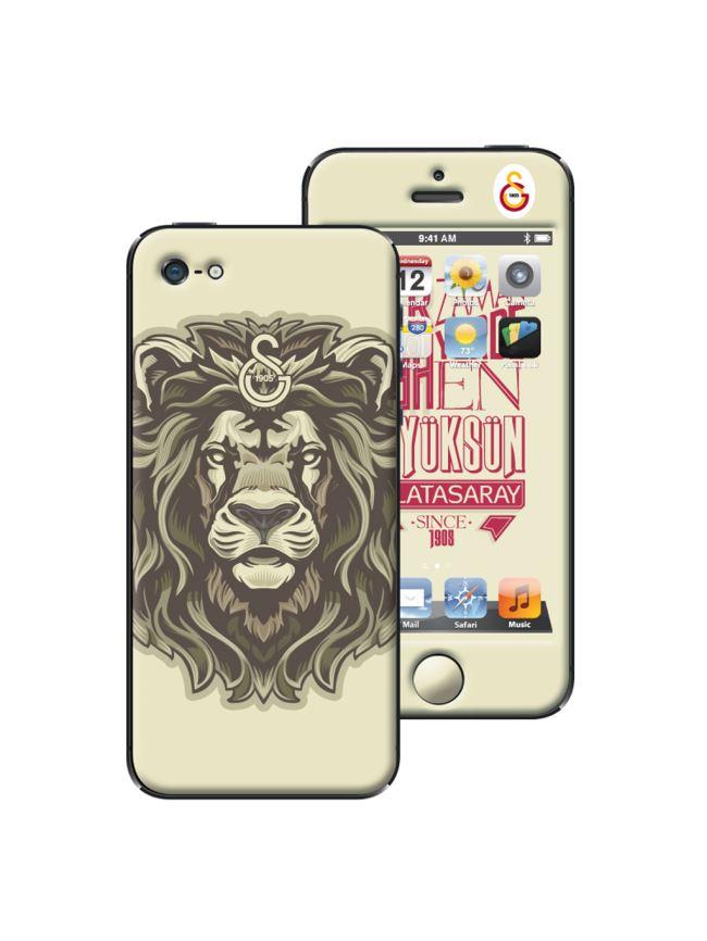 U13955 205.000 Galatasaray iPhone 5/5S Shockproof - Arslan