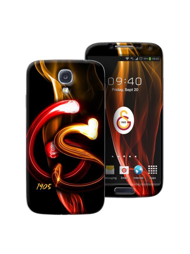 U13958 113.003 Galatasaray Samsung S4 Shockproof - Alevli