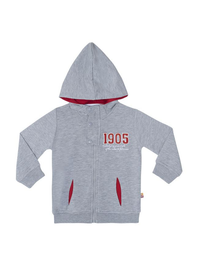 C14040 ZB630 KAPSONLU  SWEAT MONT