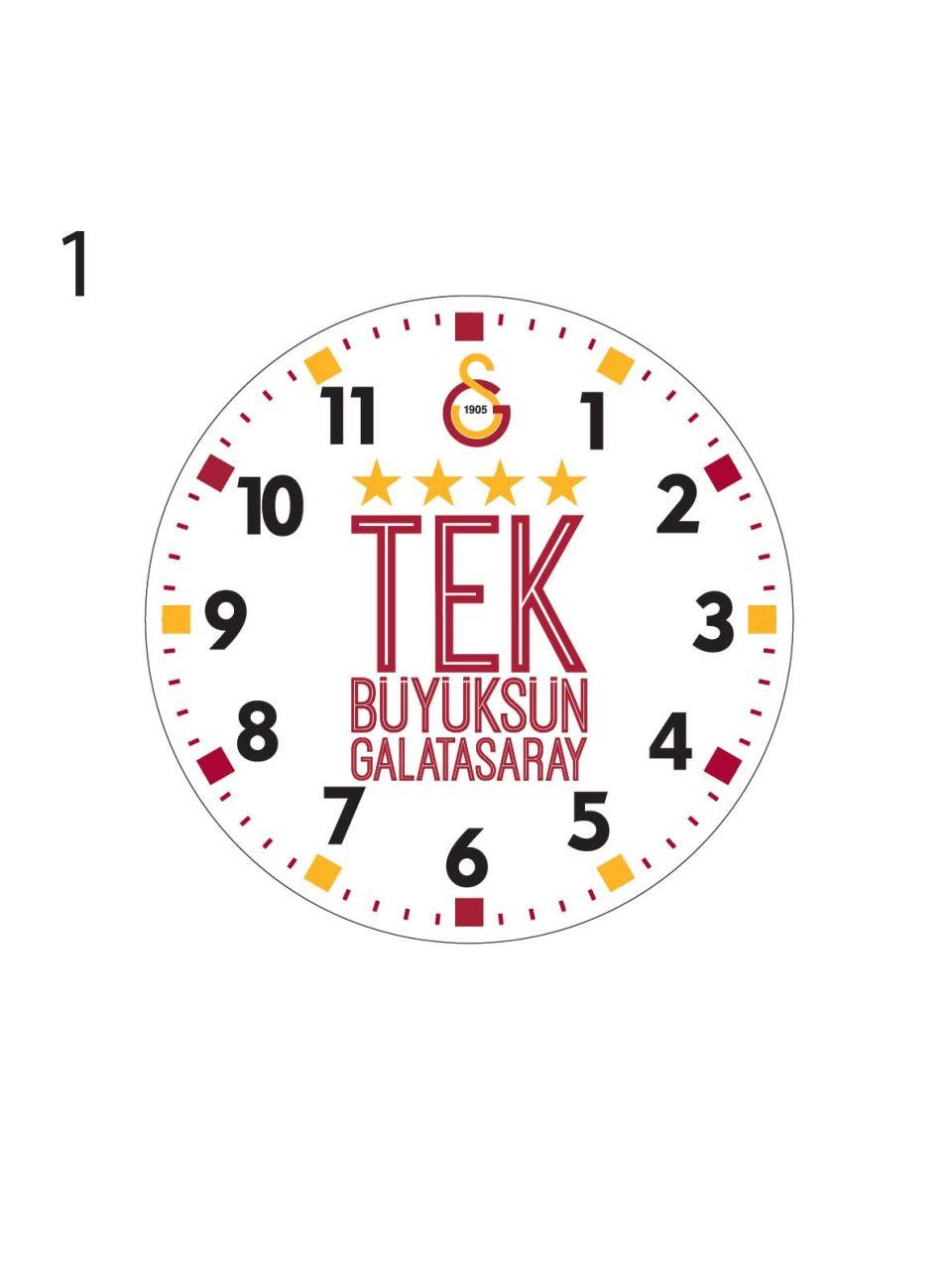 U21008 GS Şampiyonluk Duvar Saati-1