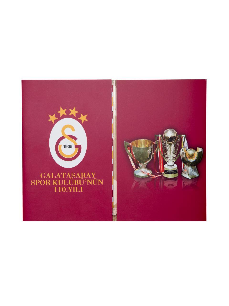 U23045 Galatasaray Spor Kulübü 110.Yıl/Zarf+Pul Kiti