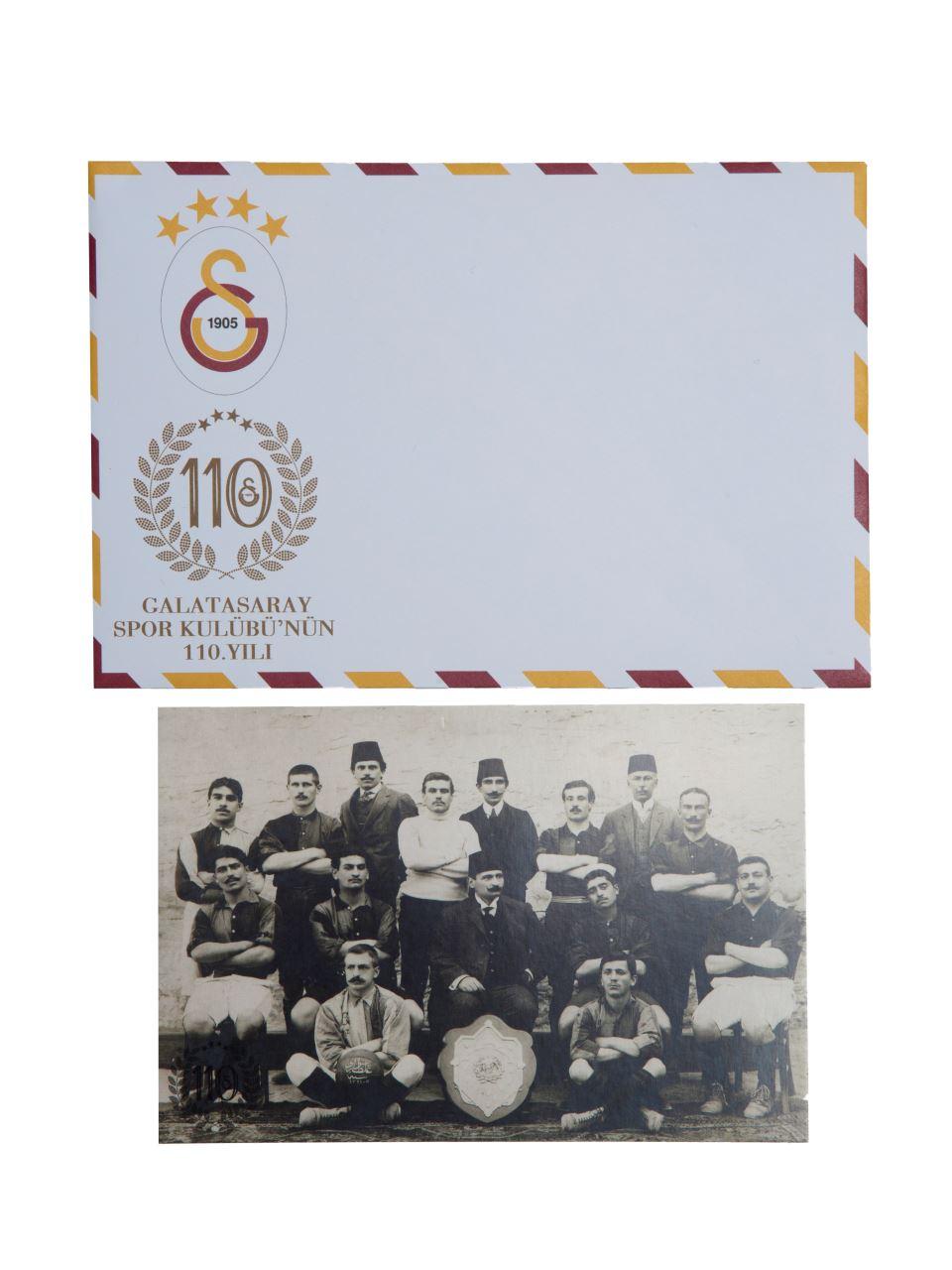 U23047 Galatasaray Spor Kulübü 110.Yıl/Kartpostal