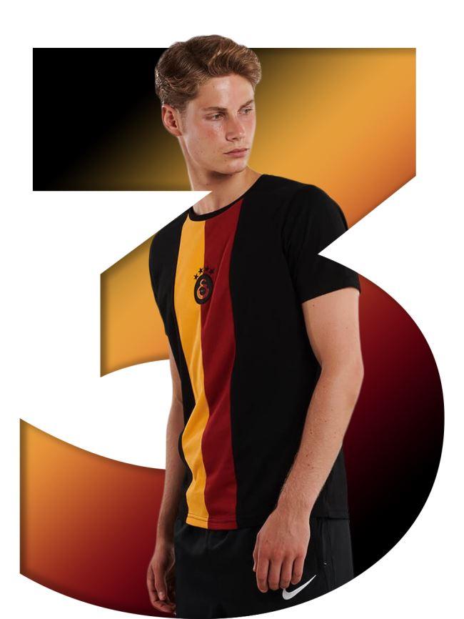 Galatasaray Erkek  T-shirt E201200