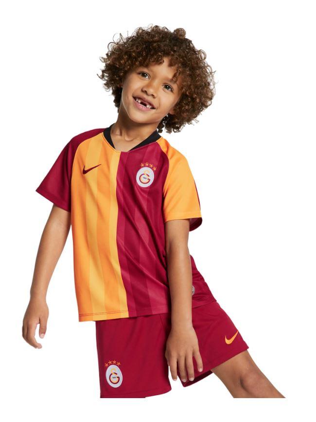 Nike Galatasaray İç Saha Çocuk Forma Şort Çorap 19-20 Ao3054-628