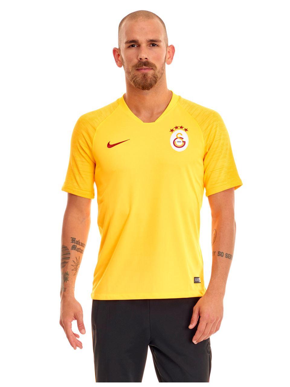 Nike Galatasaray Sarı Antrenman Forması 19-20 Ao5153-845