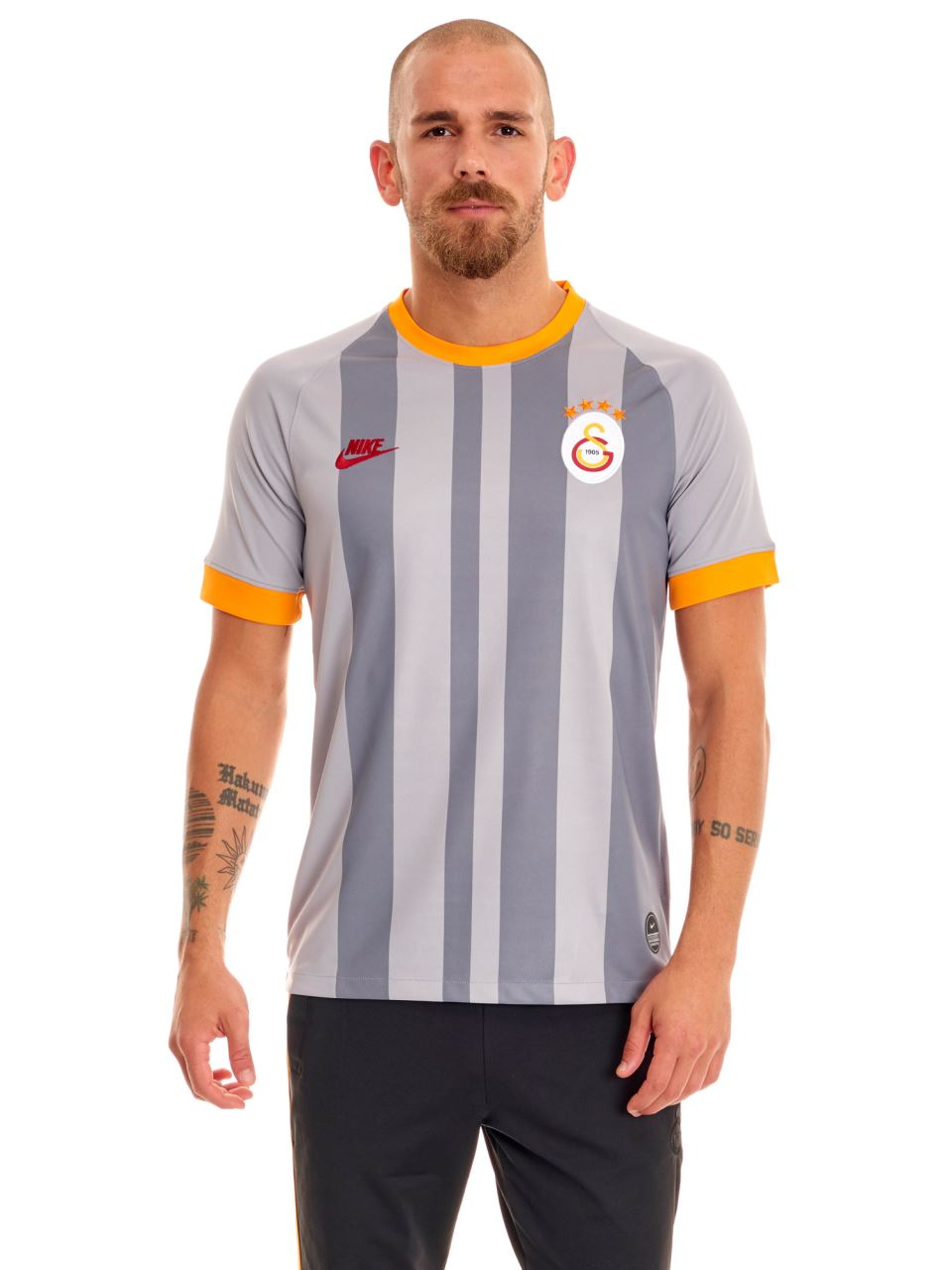 Nike Galatasaray Gri Alternatif Maç Forması 19-20 At0030-060