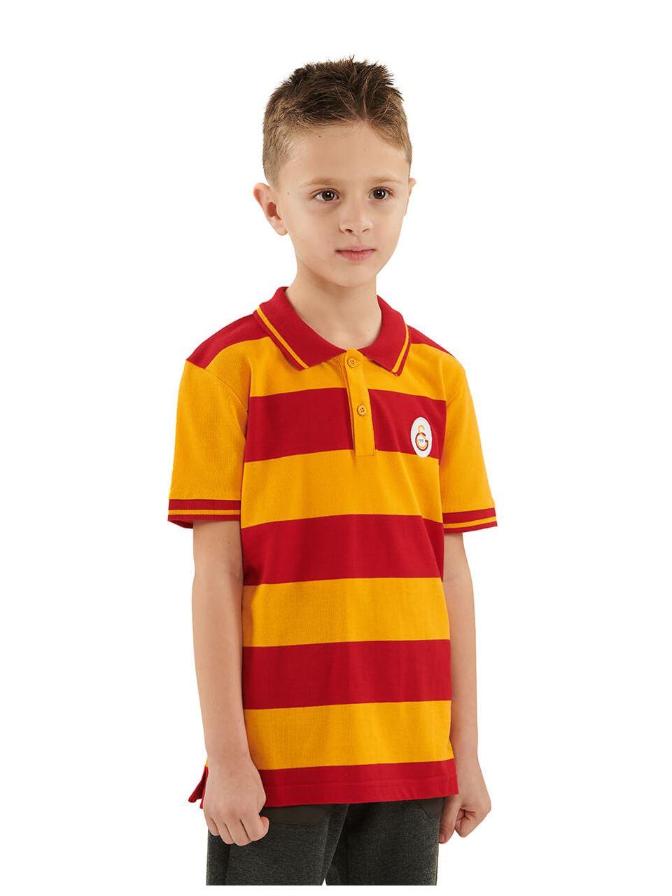 Galatasaray Polo Yaka Çocuk T-shirt C191041