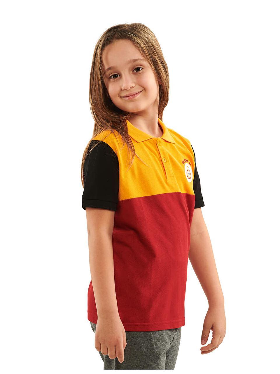 Galatasaray Polo Yaka Çocuk T-shirt C191043