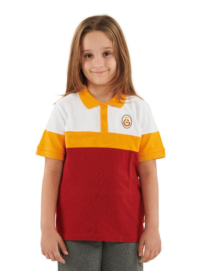 Galatasaray Polo Yaka Çocuk T-shirt C191044