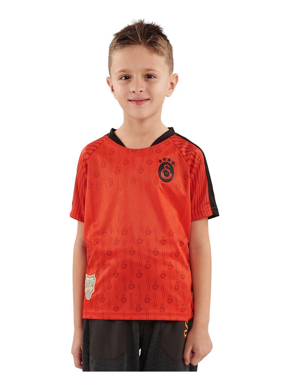 Galatasaray Sariyla Kirmizi Taraftar Çocuk T-shirt C191209
