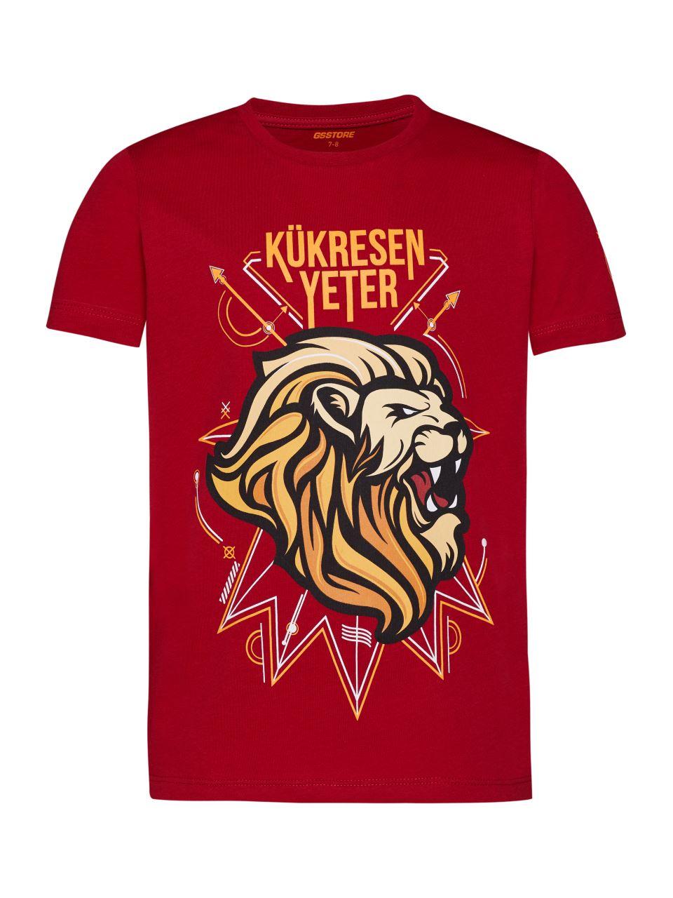 Galatasaray Kükresen Yeter 3D Çocuk T-shirt C191234