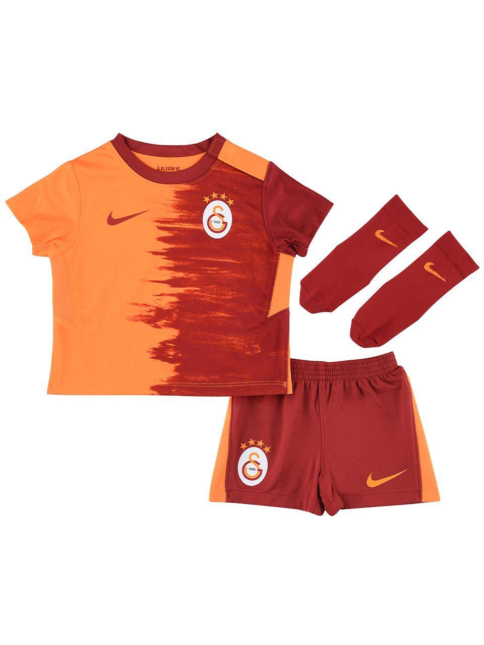 Nike Galatasaray 2020/2021 Bebek Parçalı İç Saha Forma Set Cd4608-836