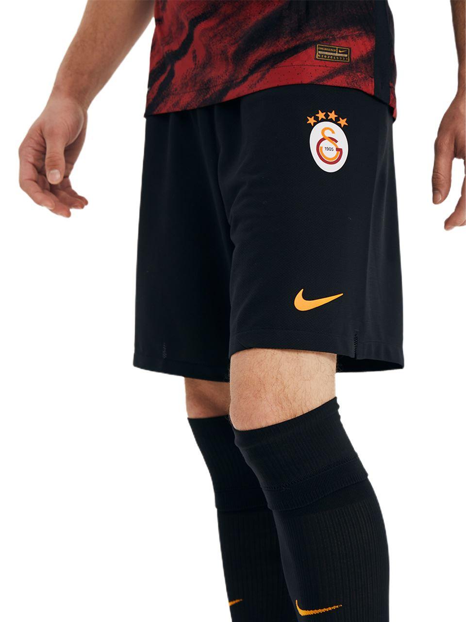 Nike Galatasaray A Takım Siyah Futbol Şort A04732-010-A