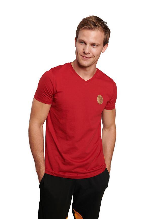 E191066 V Yaka T-shirt