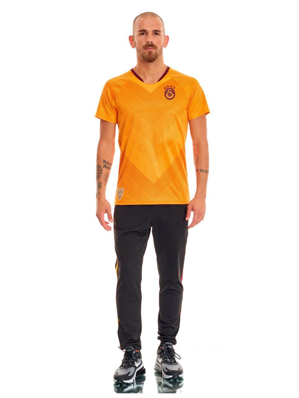Galatasaray Tok Sarı Taraftar Erkek T-shirt E191206