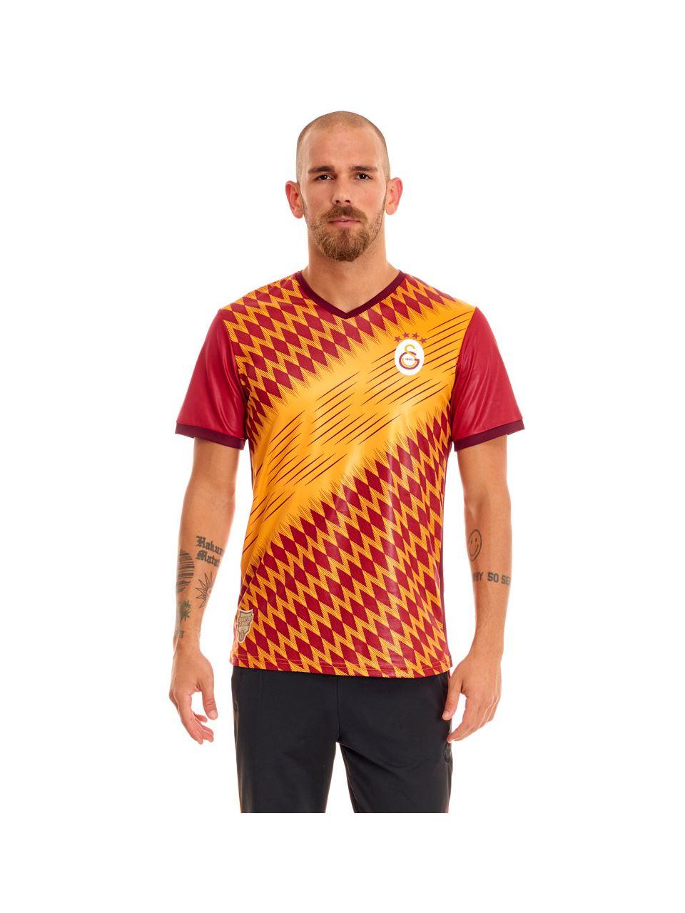 Galatasaray Omuz Omuza Taraftar Erkek T-shirt E191207