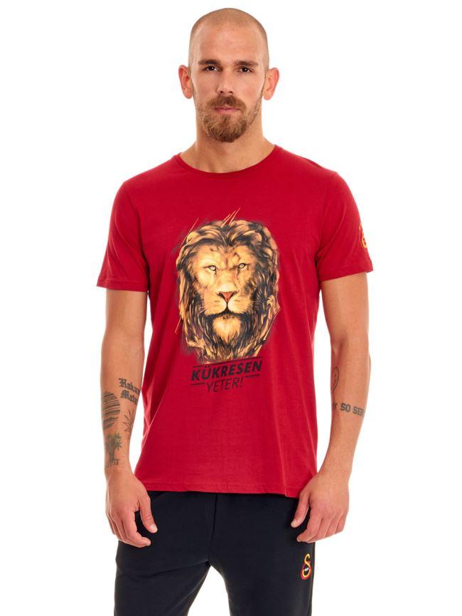Galatasaray Kükresen Yeter 3D Erkek T-shirt E191230