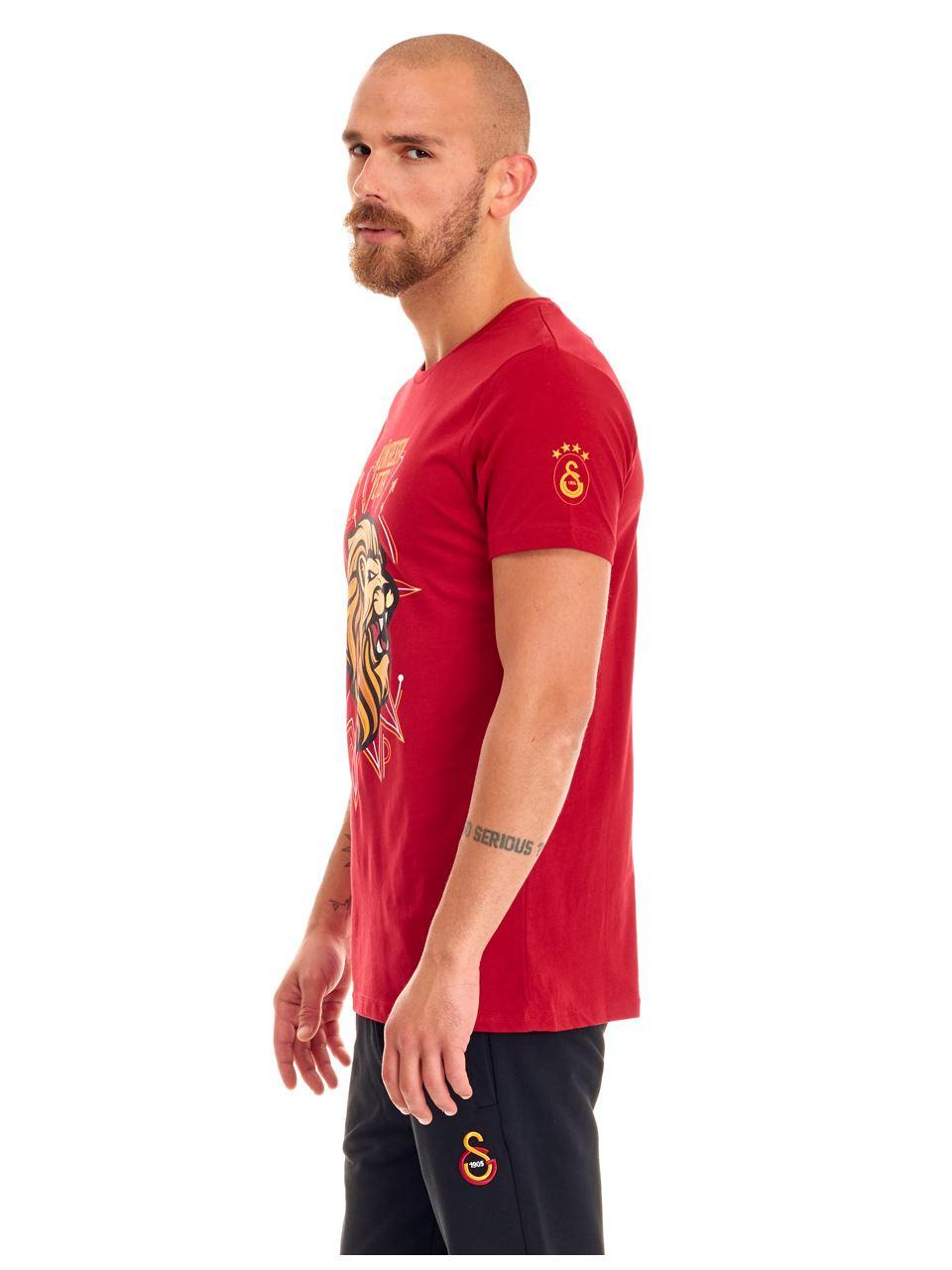 Galatasaray Kükresen Yeter 3D Erkek T-shirt E191231