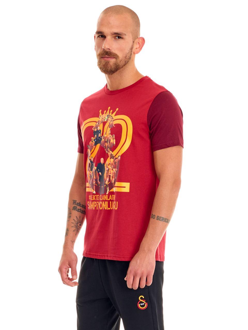 Galatasaray #1Likte Erkek T-shirt E191257