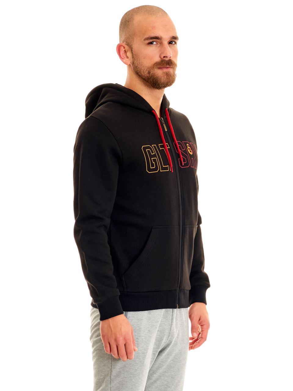 Gltsry Erkek Fermuarlı Sweatshirt E192079