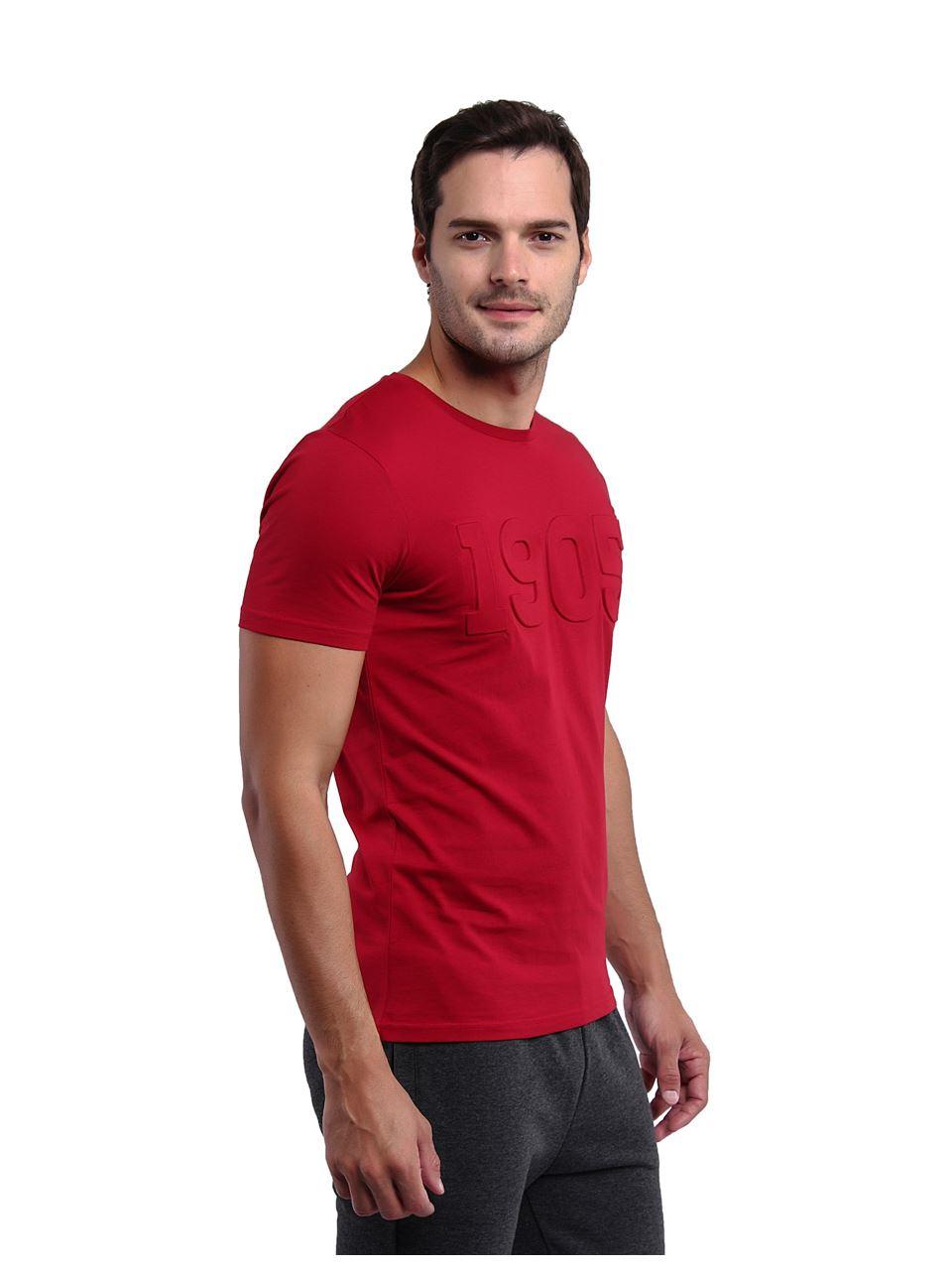 Galatasaray Erkek Gofre T-shirt E201112