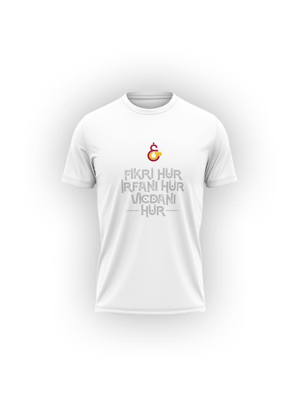 Galatasaray Fikri Hür Erkek T-shirt E211703