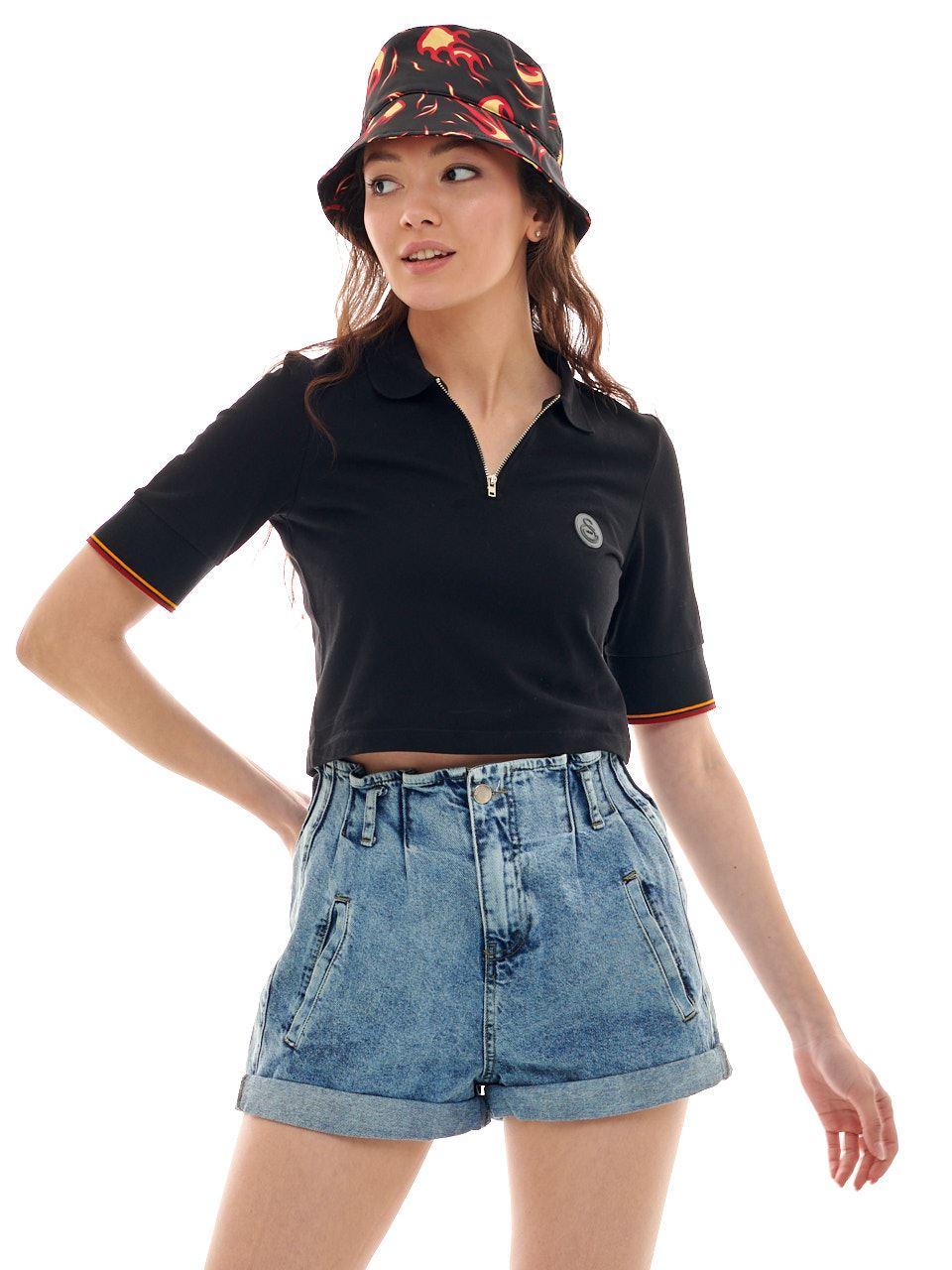 Galatasaray Kadın Polo T-shirt K211114