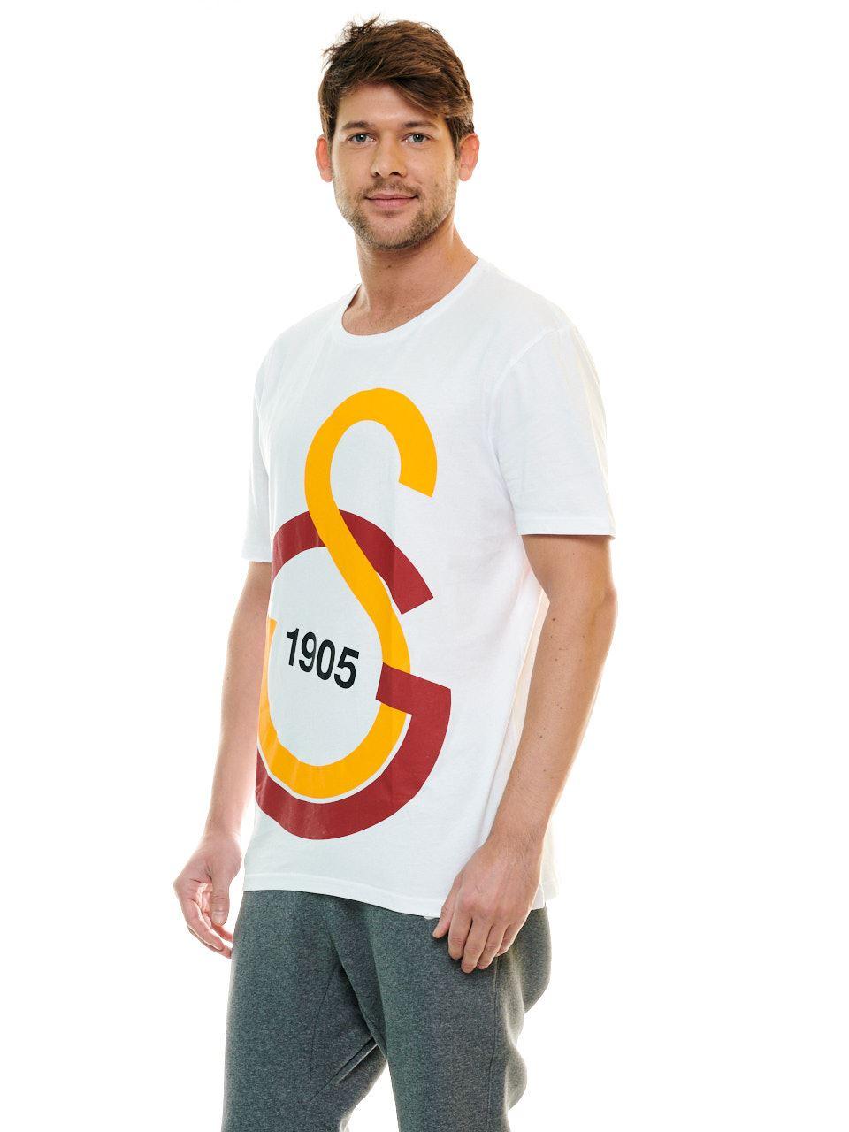 Galatasaray Erkek Büyük GS Logolu T-Shirt E88151