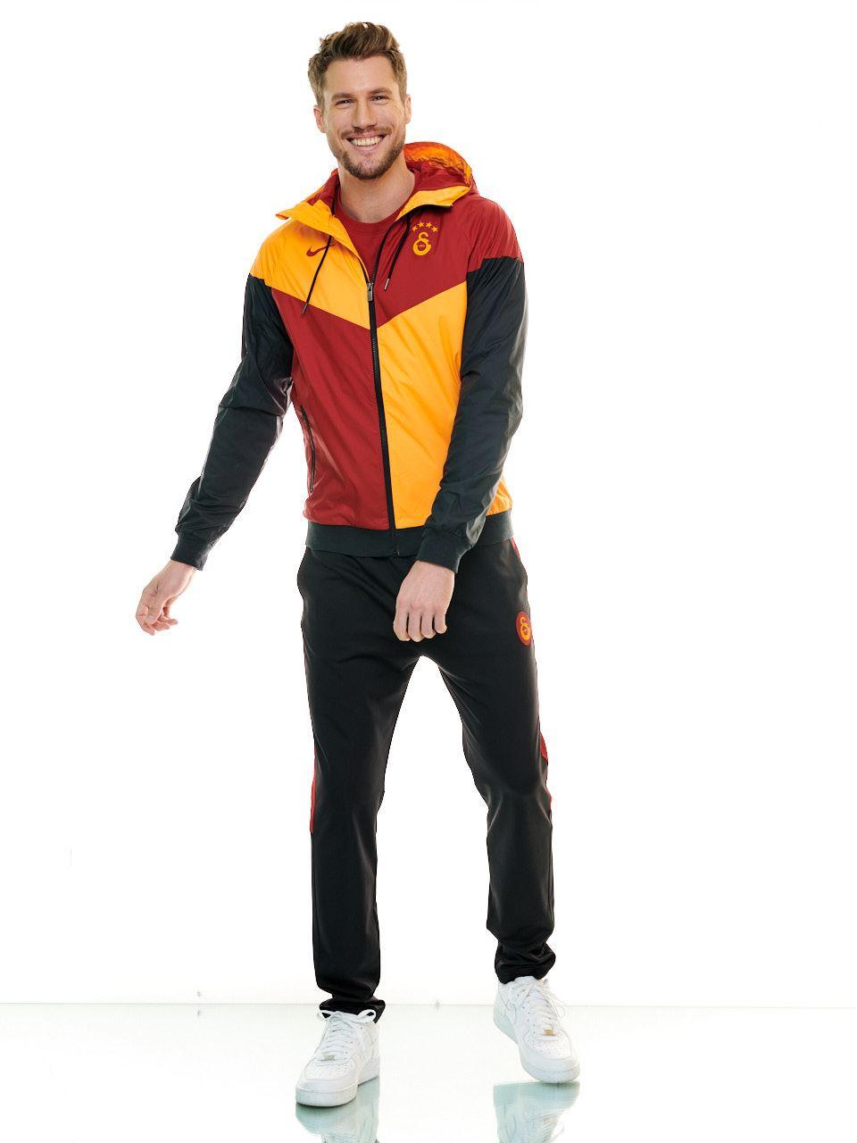 Nike Galatasaray Erkek Sarı Kırmızı Ceket CI9263-836