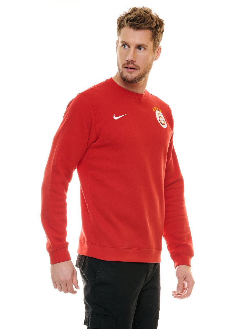 Nike Galatasaray Sweatshirt (Kırmızı) Aj1466-657