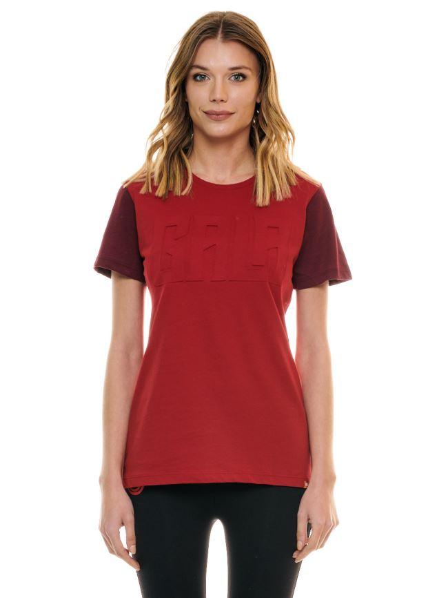 Galatasaray Kadın Gala Gofre Baskı T-shirt K201228