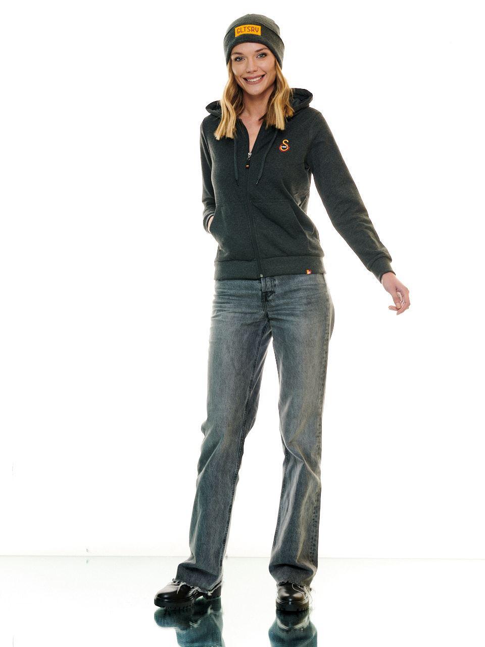 Galatasaray Kadın Basic Sweatshirt K201218