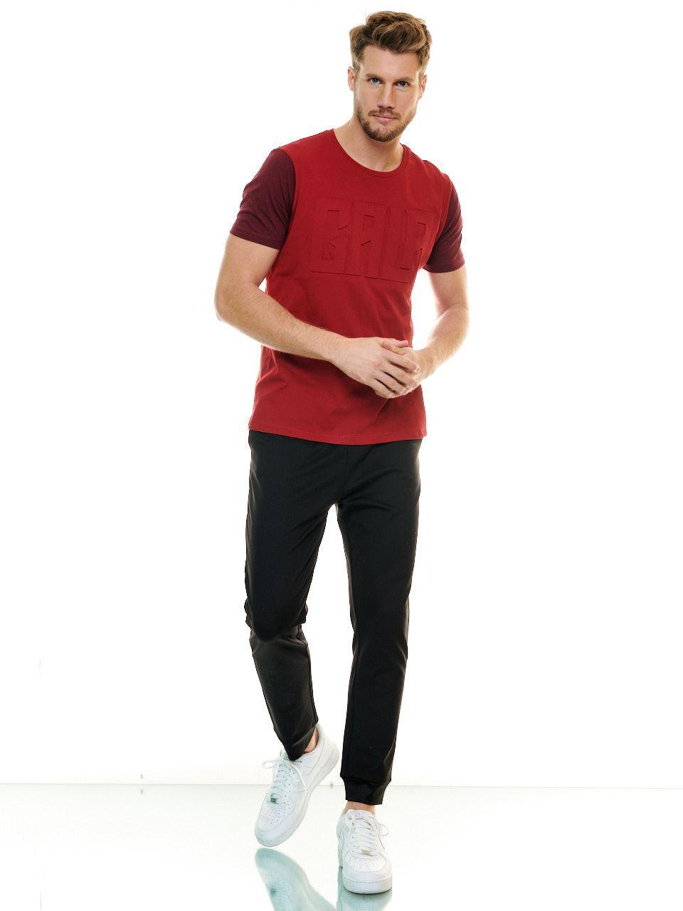 Galatasaray Erkek Gala Gofre Baskı T-shirt E201228