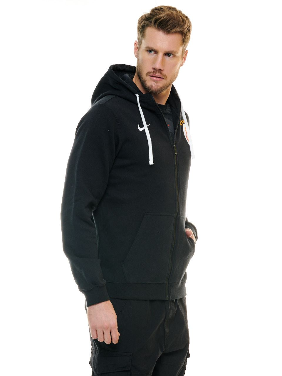 Nike Galatasaray Fermuarlı Sweatshirt (Siyah) Aj1313-010