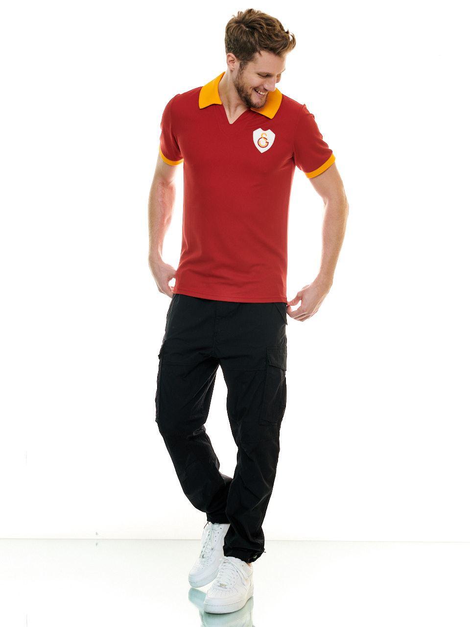 Galatasaray İlk Kırmızı Retro Erkek Forma E192324