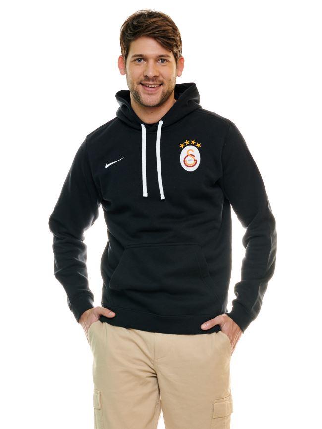 Nike Galatasaray Kapşonlu Sweatshirt (Siyah) Ar3239-010