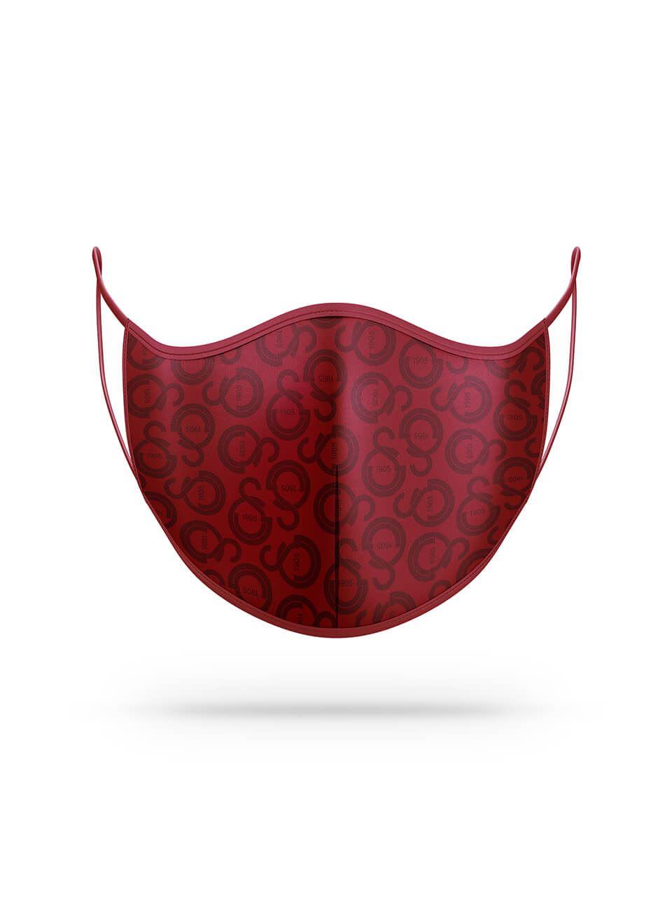 Maske Kırmızı Logo U201244