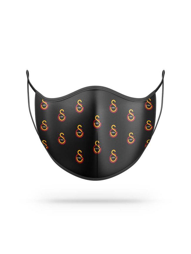 Maske Siyah Küçük Logo U201240