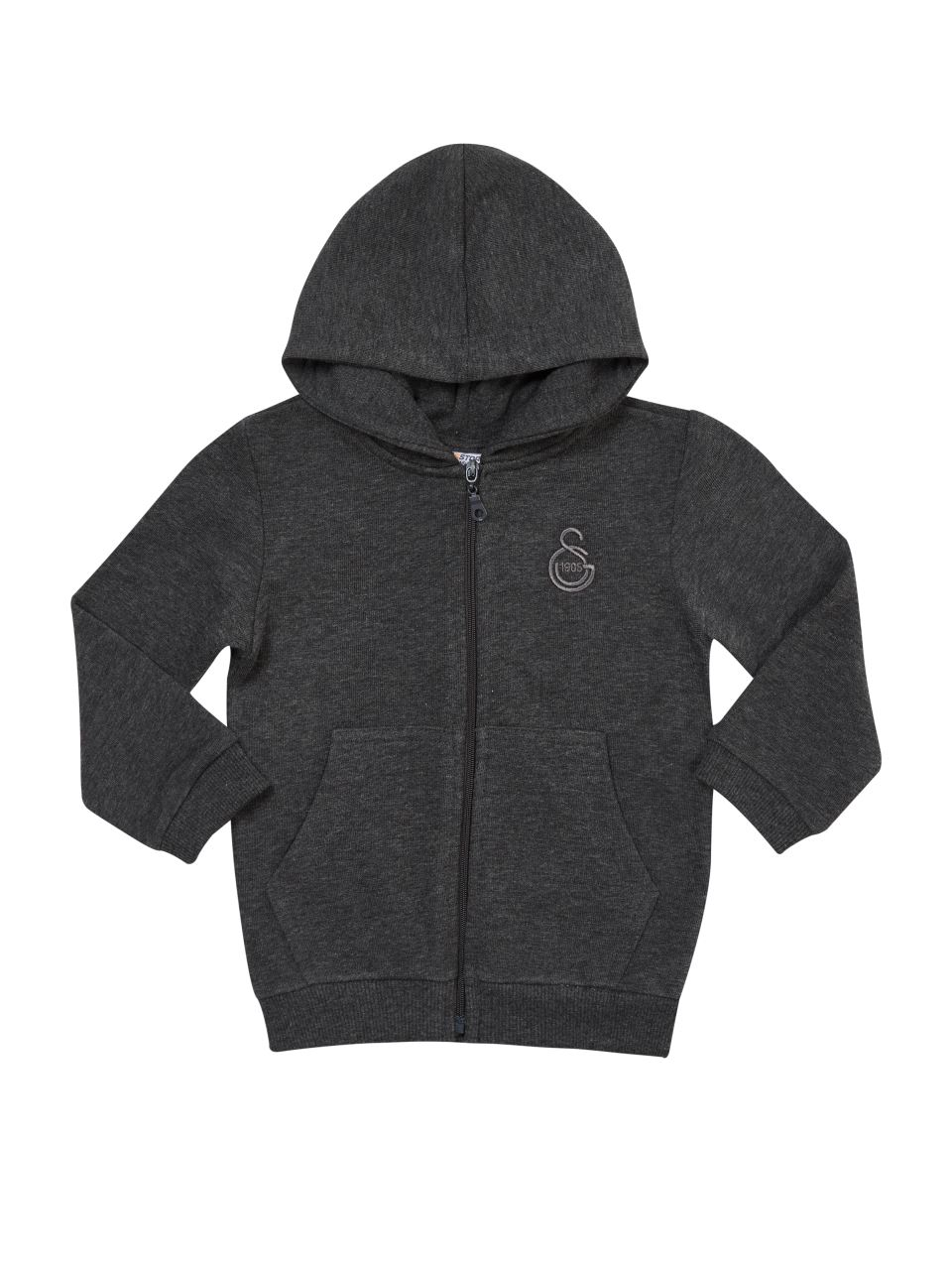 B77007 Fermuarlı Sweatshirt