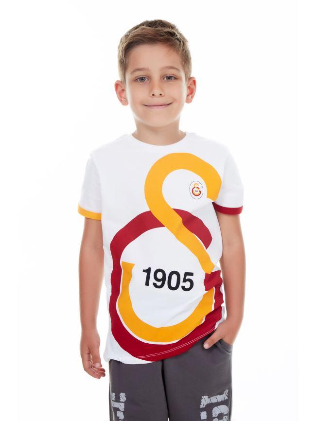 Galatasaray Çocuk Büyük GS Logolu T-Shirt C88042