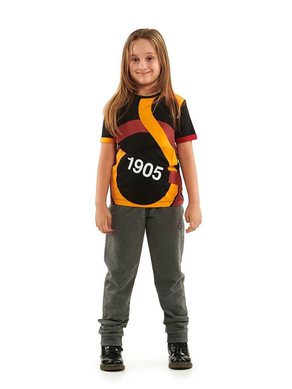 Galatasaray Çocuk Büyük GS Logolu T-Shirt C88139